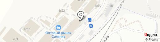 Оптово-розничный магазин на карте Солянки