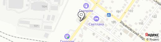 Люкс Авто на карте Астрахани