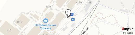Оптово-розничная фирма на карте Солянки