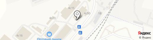 Магазин рыбной продукции на карте Солянки