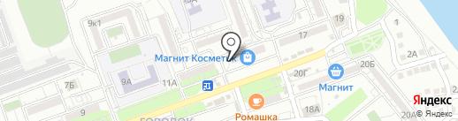 Вкусная ярмарка на карте Астрахани