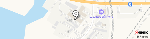 Сеть магазинов дверей на карте Солянки