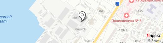 Транспортно-Сервисная Компания на карте Астрахани