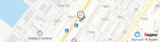 ТриНити на карте Астрахани