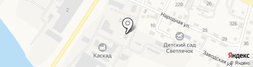 Волжский простор на карте Карагали