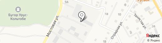 Транспортная фирма на карте Карагали