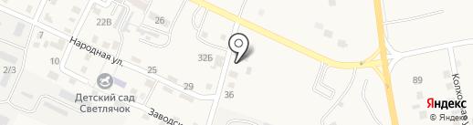 Валентина на карте Карагали