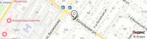 Уют в Авто на карте Астрахани