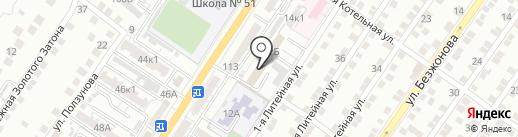 Российский союз сельской молодежи на карте Астрахани