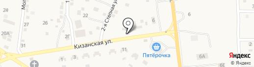 Продуктовый магазин на Кизанской на карте Карагали