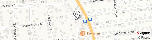 Лёвушка на карте Солянки