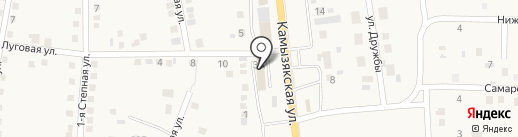 Продуктовый магазин на Камызякской на карте Карагали