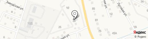 Агентство автострахования на карте Яксатово