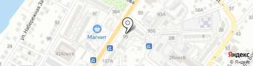 Комплектстрой-А на карте Астрахани