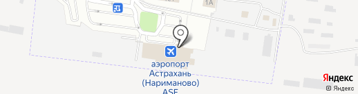 Санитарно-карантинный пункт Морского пункта пропуска г. Астрахани на карте Астрахани