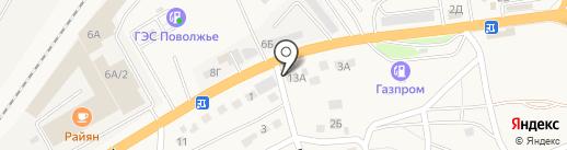 Империя стиля на карте Пригородного