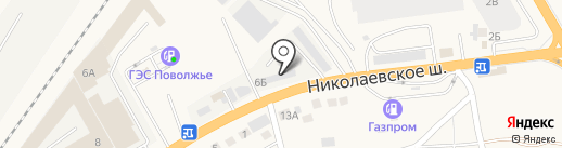 Компания на карте Солянки