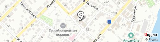 Paradize Holl на карте Астрахани
