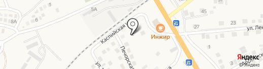 Шукур на карте Солянки