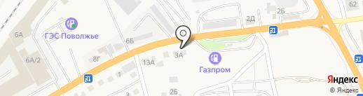 ЭкономГаз на карте Пригородного