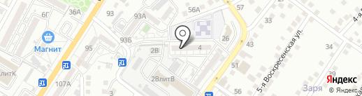 Всероссийское общество слепых на карте Астрахани