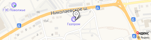 АЗС Газпром на карте Пригородного