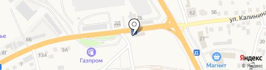 Сансеть на карте Пригородного