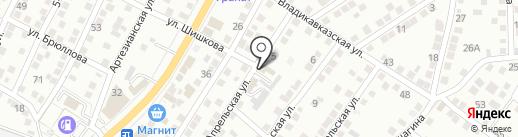 АвтоИдеал на карте Астрахани