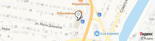 Ева-фитнес на карте Пригородного