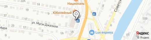 Банкомат, АКБ Российский капитал, ПАО на карте Пригородного