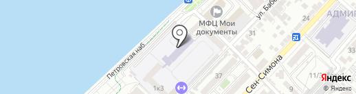 Центр дополнительного образования на карте Астрахани