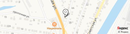 Шиномонтажная мастерская на карте Солянки