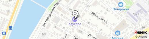 Экстрим на карте Астрахани