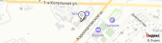 Пит лайн на карте Астрахани
