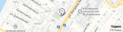Поможем детям на карте Астрахани