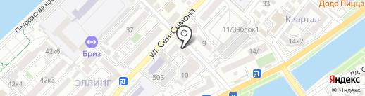 Comprome на карте Астрахани