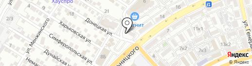 Бухгалтерская фирма на карте Астрахани