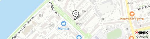 Slim Club на карте Астрахани