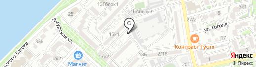 Магазин фруктов и овощей на карте Астрахани