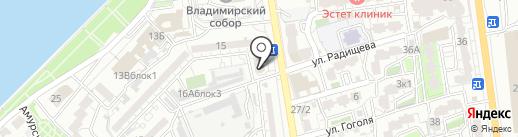 Марлиншипснаб на карте Астрахани
