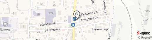 Диалина на карте Солянки