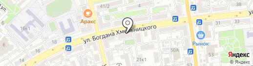 Ателье на карте Астрахани