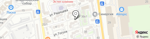 Гарантстройсервис на карте Астрахани