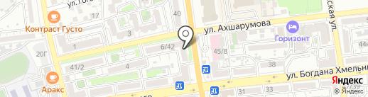 Банкомат, Росгосстрах банк, ПАО на карте Астрахани