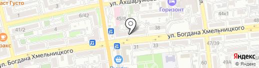 ШиП на карте Астрахани