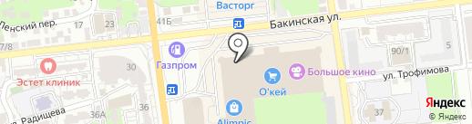 Planet happy на карте Астрахани