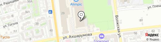 Кристал Swarovski на карте Астрахани