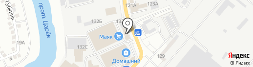 АвтоВиД на карте Астрахани