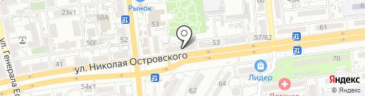Аст-СТРОЙ на карте Астрахани