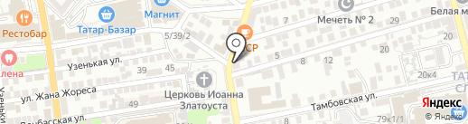 Астраханская мемориальная компания на карте Астрахани